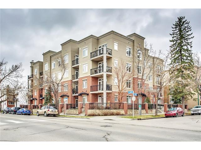 #105 303 19 AV SW - Mission Lowrise Apartment for sale, 1 Bedroom (C4112112) #1